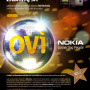 Nokia Ovi 4 (poster A4 – Ovi Star disco gula)